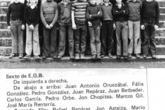 Lecaroz-1976-1977.-6o-EGB